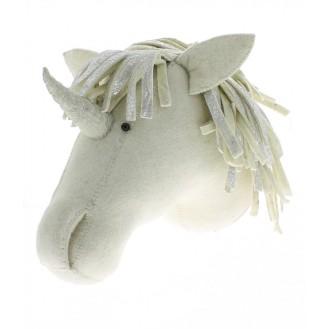 Licorne en feutrine